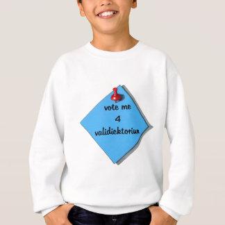 投票卒業生総代(誤まって綴られる) スウェットシャツ