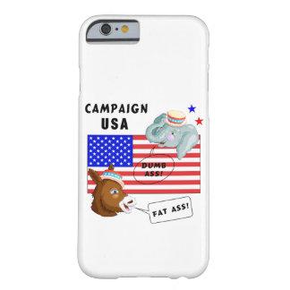 投票日のキャンペーン米国 BARELY THERE iPhone 6 ケース