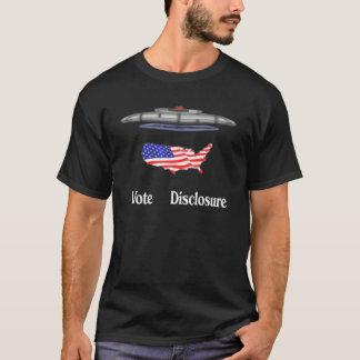 投票発表 Tシャツ