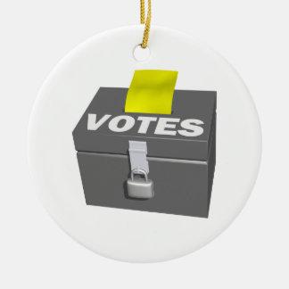 投票箱 セラミックオーナメント