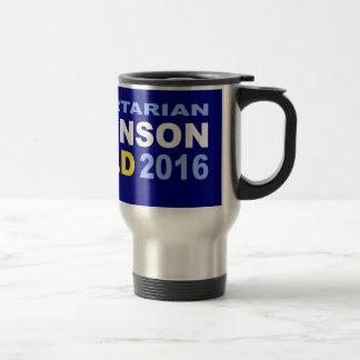 投票自由主義的なジョンソン溶接2016年 トラベルマグ