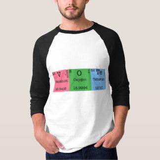 投票要素のワイシャツ Tシャツ