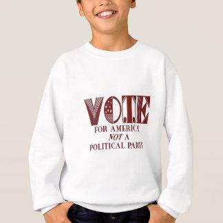 投票 スウェットシャツ