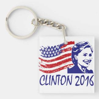 投票!  ヒラリー・クリントンの2016年のkeychain キーホルダー