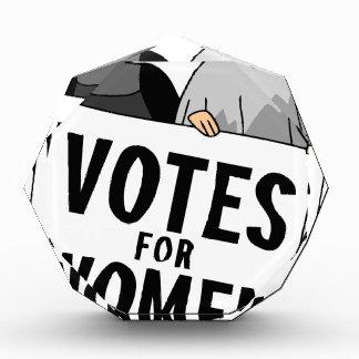 投票 表彰盾