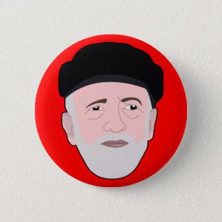 投票CorbynのバッジPinボタン 5.7cm 丸型バッジ
