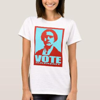 投票DammitスーザンB.アンソニーのポップアート Tシャツ