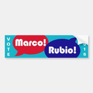 投票Marcoルビオ2016年-大統領のなキャンペーン バンパーステッカー