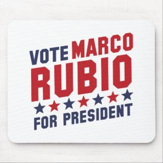 投票Marcoルビオ マウスパッド