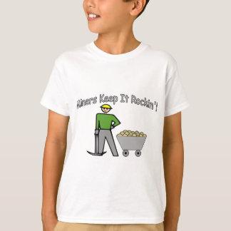 抗夫はそれをRockin保ちます Tシャツ