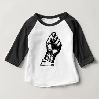 抗議の握りこぶし ベビーTシャツ