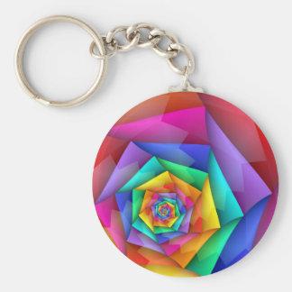 折られた虹ゲイプライドLGBT Keychain キーホルダー