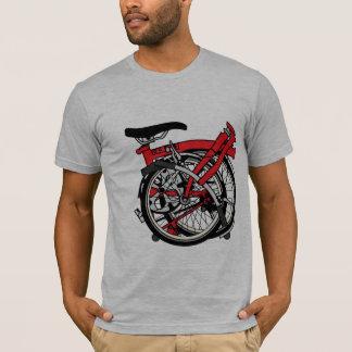 折られるBromptonの自転車 Tシャツ