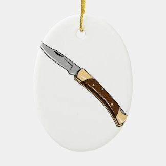 折るナイフ セラミックオーナメント