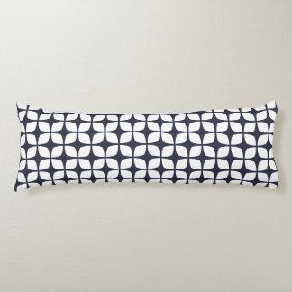 抱き枕-クラシックで青い幾何学的設計 ボディピロー