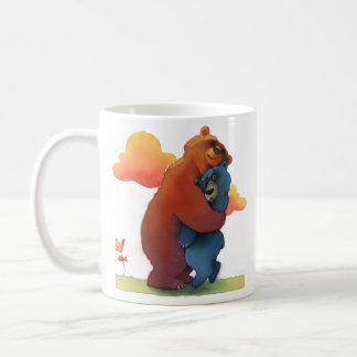 抱擁あなたが今日愛する誰か コーヒーマグカップ