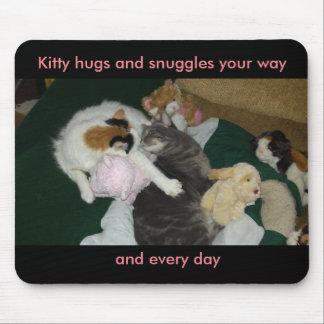抱擁のマウスパッド マウスパッド