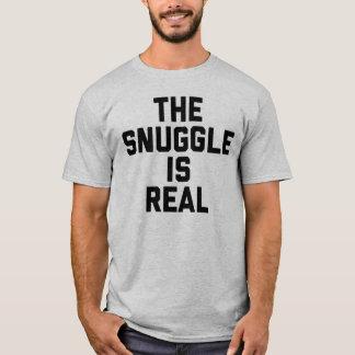 抱擁は実質のTシャツです Tシャツ