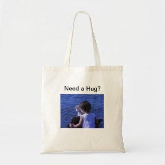 抱擁を必要として下さいか。 子ネコの買い物袋 トートバッグ