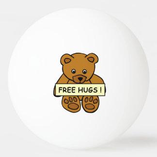 抱擁テディのカスタムなピンポン球を放して下さい 卓球ボール