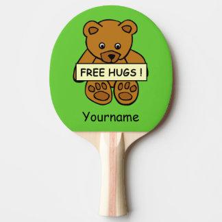 抱擁テディのカスタムの卓球ラケットを放して下さい 卓球ラケット