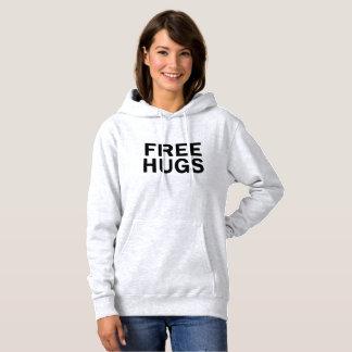 抱擁フード付きスウェットシャツのスエットシャツ-公式女性--を放して下さい パーカ
