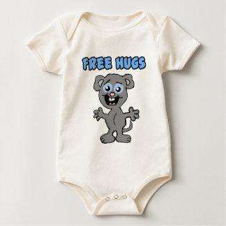 抱擁マウスのワイシャツを放して下さい ベビーボディスーツ
