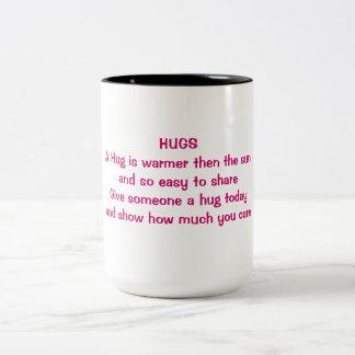 抱擁マグ ツートーンマグカップ