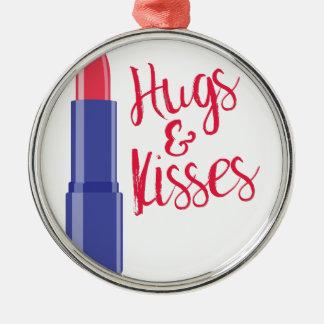 抱擁及びキス メタルオーナメント