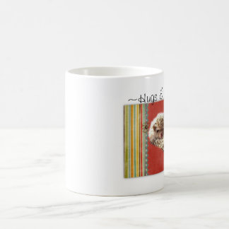抱擁及びHedgies コーヒーマグカップ