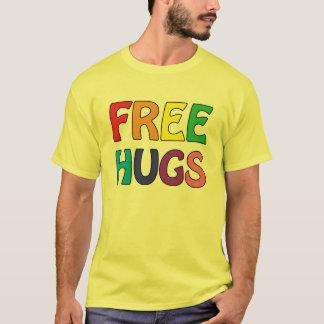 抱擁基本的なTシャツを放して下さい Tシャツ