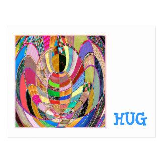 抱擁   -芸術的な提示 ポストカード