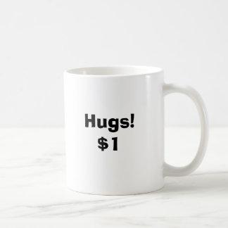 抱擁! $1コーヒー・マグ コーヒーマグカップ