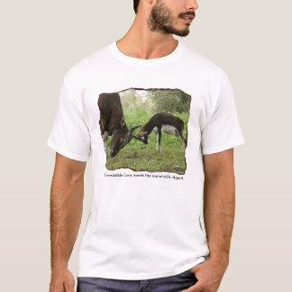 抵抗できない力… Tシャツ