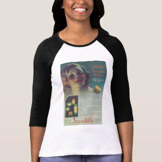 抵抗できない化粧品広告1935年 Tシャツ