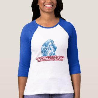 抵抗できない欲求 Tシャツ