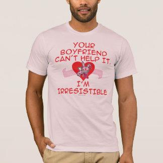 抵抗できない Tシャツ