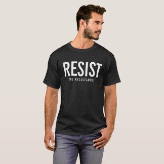 抵抗に抵抗して下さい Tシャツ