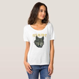 抵抗のオオカミ Tシャツ