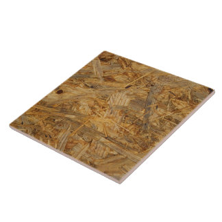 押された木製の残余の質 タイル