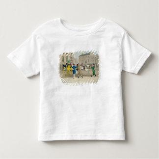 押す招待状、「流行の穴から、 トドラーTシャツ
