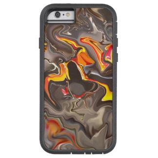抽象デザインと堅いIphone 6-6s Tough Xtreme iPhone 6 ケース