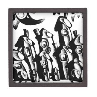 抽象デザインの芸術 ギフトボックス