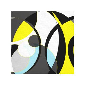 抽象デザイン キャンバスプリント