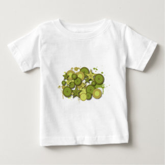 抽象デザイン ベビーTシャツ
