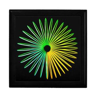 抽象的でサイケデリックな目の錯覚のギフト用の箱 ギフトボックス