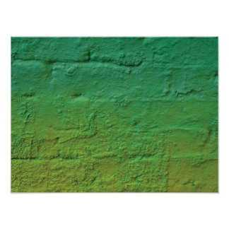 抽象的でモダンな落書きの芸術の終わり ポスター