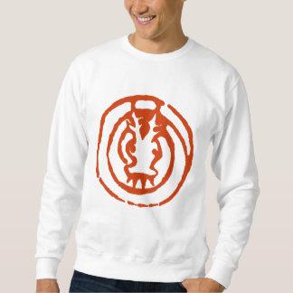抽象的で中国のな(占星術の)十二宮図のドラゴンの記号のTシャツ スウェットシャツ