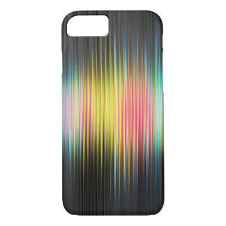 抽象的で健全な音楽虹のiPhone 7の懸命の場合 iPhone 8/7ケース