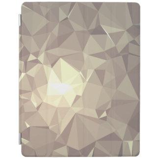 抽象的で及びカラフルなパターンデザイン-かすんでいるキツネ iPadスマートカバー